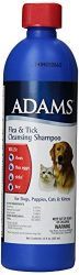 Adams Flea and Tick Cleansing Shampoo, 12-Ounce