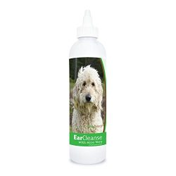 Healthy Breeds Dog Ear Cleaning Rinse with Aloe for Golden Doodle, White – Over 200 Breeds – Veterinarian Formulated – Help with Itching & Scratching – 4 oz