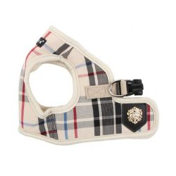 Puppia Authentic Junior Harness B, X-Small, Beige