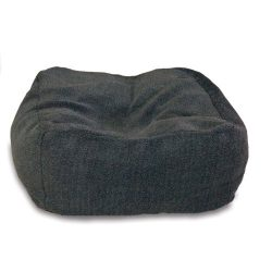K&H Pet Products Cuddle Cube Pet Bed Medium Gray 28″ x 28″