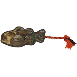 REALTREE Rope Floaty Fish DOG Toy. BEST LICENSED TOUGH FLOATING TOY for DOGS & CATS. Fun & Durable Pet Toy