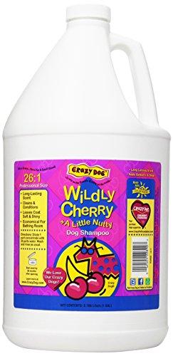 Crazy Dog Shampoo, Wild Cherry, 1-Gallon