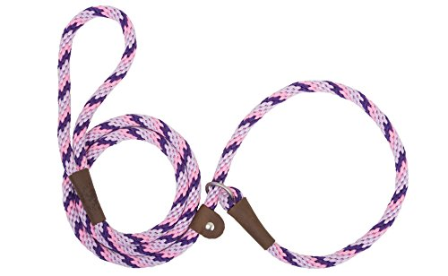 Mendota Products Slip Lead,  1/2″ X 6′, Lilac, Dogs