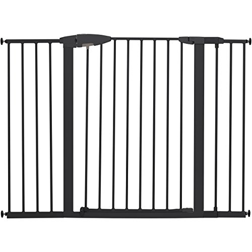 Munchkin Easy Close XL Metal Baby Gate, 29.5″ – 51.6″ Wide, Black, Model MK0009-111