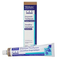 Virbac CET201 C.E.T. Enzymatic Toothpaste for Dogs and Cats, 2.5 oz