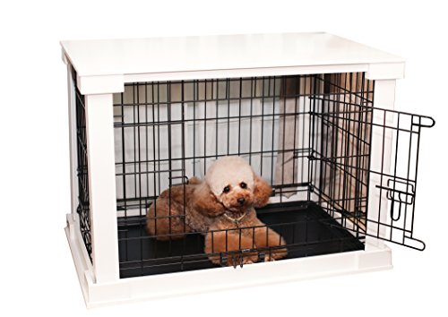 zoovilla Large White Cage with Crate Cover