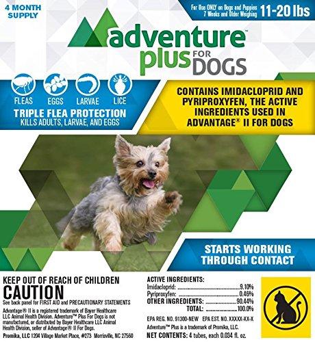 Promika Adventure Plus for Dogs 4pk 11-20lb