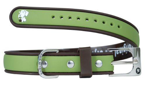 All Style 17-Inch by 21-1/2-Inch No Stink Dog Collar, Large, Olive Brown