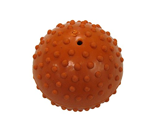 Boss Pet Rubber Dimple Ball with Bell Dog Toy