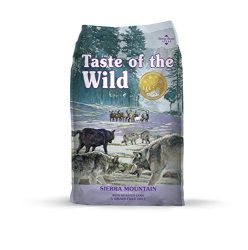 Taste of the Wild Grain Free Premium Dry Dog Food Sierra Mountain – Lamb