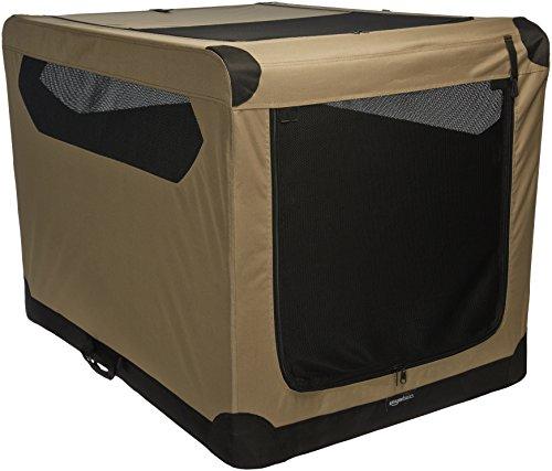 AmazonBasics Folding Soft Dog Crate, 42″