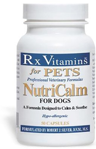 Rx Vitamins 50 Capsules NutriCalm for Dogs, One Size
