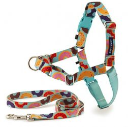 PetSafe EWH-C-HC-M/L-DNT Easy Walk Chic Harness, Medium/Large, Donuts