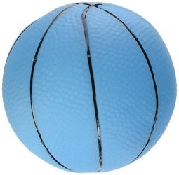 Ethical Vinyl Basketball Dog Toy, 3-Inch, Assorted Colors