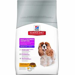 Hill's Science Diet Senior Dog Food, Adult 11+ Small & Toy Breed Age Defying Chicken Meal Rice & Barley Recipe Dry Dog Food, 15.5 lb Bag