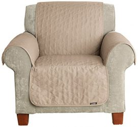 Sure Fit Furniture Friend Pet Throw – Chair Slipcover  – Linen (SF37505)