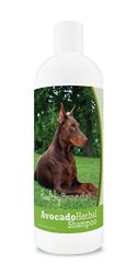 Healthy Breeds Herbal Avocado Dog Shampoo for Dry Itchy Skin for Doberman Pinscher, Brown  – OVER 200 BREEDS – For Dogs with Allergies or Sensitive Skin – 16 oz