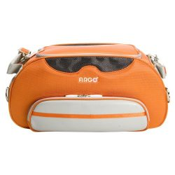 Argo Small Aero-Pet Airline Approved Carrier, Tango Orange