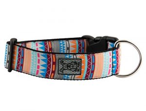 RC Pet Products 1 1/2″ Wide Dog Collar, Large, Fringe