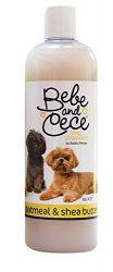 Bebe and Cece Oatmeal & Shea Butter Dog Shampoo, 16-Ounce