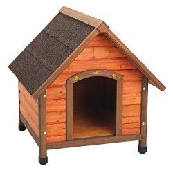 Ware Manufacturing Premium Plus A-Frame Fir Wood Dog House – Small