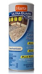 Hartz UltraGuard Plus Flea & Tick Carpet Powder – 16oz