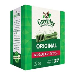 GREENIES Original Regular Size Halloween Dental Dog Treats, 27 oz. Pack