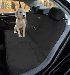 Kurgo Wander Dog Car Seat Cover, Black – Stain Resistant – Waterproof – Universal Fit