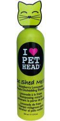 Pet Head De Shed Me!! Deshedding Shampoo for Cats 12oz