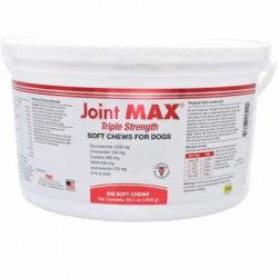 Joint MAX Triple Strength – Vitamins, Minerals, Antioxidants – Maximum Joint Health Supplement for Dogs – 240 Soft Chews