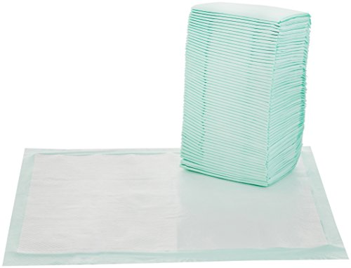 AmazonBasics Pet Training and Puppy Pads, Fresh Scent, X-Large – 60 Count