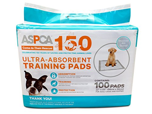 ASPCA Mountain Air Scented Training Pads (100 Pack)