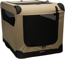 AmazonBasics Folding Soft Dog Crate, 30″