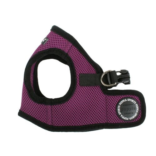 PUPPIA International Puppia Harness Soft B Vest PURPLE XLarge