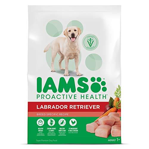 IAMS ProActive Health Adult Labrador Retriever Dry Dog Food, Chicken Flavor, 30 Pound Bag