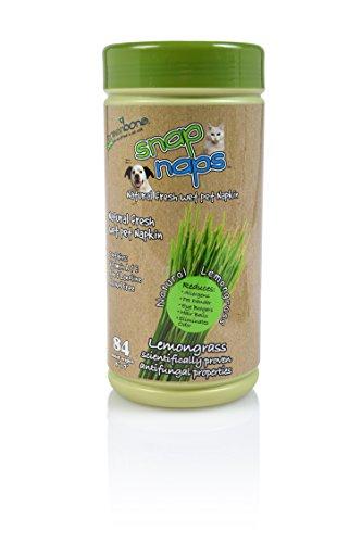 Greenbone Everyday Use No Alcohol Fomula Natural Pet Wipes 84 Count 8″ x 7″