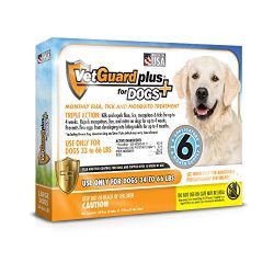 VetGuard Plus Flea & Tick Treatment for Dogs – Flea and Tick Prevention for Dogs
