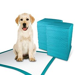 Simple Solution Training Puppy Pads | Extra Large, 6 Layer Dog Pee Pads, Absorbs Up to 7 Cups of Liquid | 28×30 Inches, 100 Count
