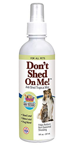 Ark Naturals Don't Shed On Me Spray! Dog and Cat Anti-Shedding Mist, Deshedding Pet Spray, Control Shedding with Natural Ingredients, 8 oz. Bottle