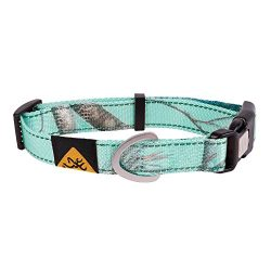 Browning Classic Webbing Collar Realtree Seaglass Md Teal