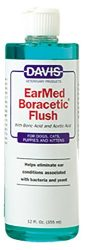 Davis EarMed Boracetic Ear Flush Pets, 12 oz