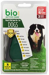 Bio Spot Active Care Flea & Tick Spot On With Applicator for Extra Large Dogs (61-150 lbs.) 3 Month Supply