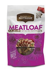 Rachael Ray Nutrish Meatloaf Morsels Dog Treats, Homestyle Beef Recipe 3 Oz. (Pack Of 8)