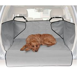 K&H Pet Products Economy Cargo Cover Gray – Protects Cargo Area of Your Car