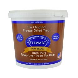 Pro-Treat Stewart Turkey Liver Freeze Dried Dog Treats, 11.5-Ounce