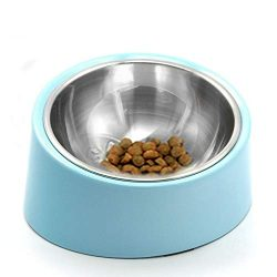 Food Bowl Especially Suitable For Dog Squashed Nose Or Amblyopia, 1 Pack