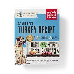 The Honest Kitchen Human Grade Dehydrated Grain Free Turkey Dog Food, 10 Lb – Embark