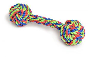 Petface Dog Toy, Knotted Rope Bone, Pet Chew Toy