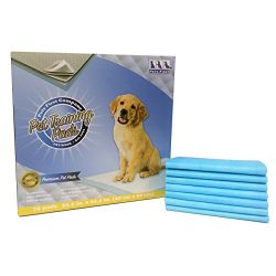 Premium Training Pads (75 Count) Newest Version – Most Absorbent Puppy Pads. Latest Tech Dog Pads