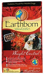 Earthborn Holistic Weight Control Grain Free Dry Dog Food, 14 Lb.